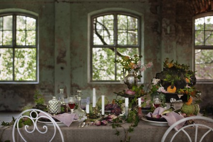autumn table setting 2014
